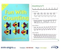 ����� ���������   1301  1 ������� ENGLISH 3 5��� ��˨��� FUN WITH COUNTING GA3127 �4