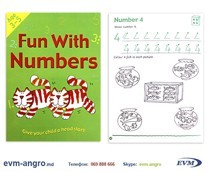 ����� ���������   1301  2 ������� ENGLISH 3 5��� ��������� FUN WITH NUMBERS GA3127 �4