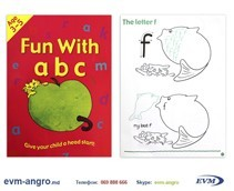 ����� ���������   1301  6 ������� ENGLISH 3 5��� ������� FUN WITH ABC GA3127 �4