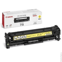 Картридж лазерный   Laser Cartridge for Canon 718 YELLOW жёлтый