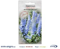 Seminte Семена ds027 Euro Delphinium Blue King 0.3 gramm