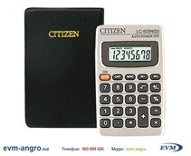 Брак Калькулятор   CITIZEN LC 503NCII МЕТАЛ